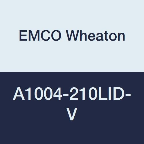 A1004-210 Series EMCO WHEATON A1004-210LID-V Lid and Seal Cast Iron Orange//Vapor