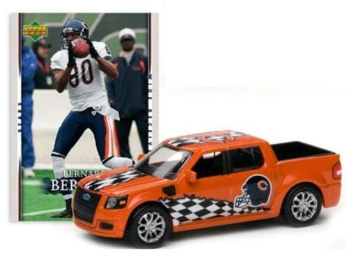 Chicago Bears - Bernard Berrian 2007 Upper Deck Collectibles NFL Ford SVT Adrenalin Concept with Card