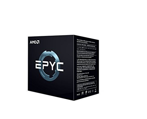 AMD PS740PBEAFWOF EPYC x86 CPU Processor Model 7401P (24c/48t 2.0GHz) 16 DDR4 DIMM Slots with up to 2TB RAM and 128 Lanes of PCIe 3
