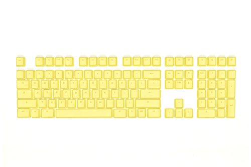 Mionix Keycaps French Fries Yellow Color For Full Size Gaming Mechanical Keyboard With Cherry Switches