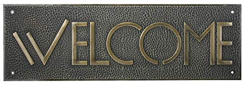 mdrqzdfh Eletina intern 6 Welcome Sign Rectangle Shaped Exhibition Welcome Sign in Gold Colored Framing ht Wright