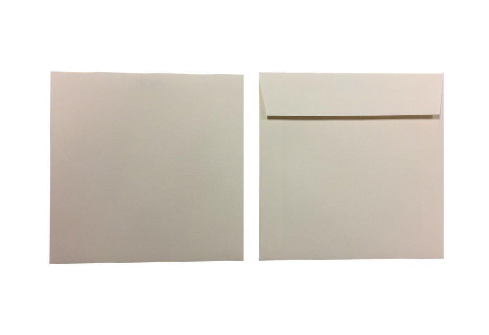 Pop'Set Umschläge Quadro elfenbein 120g m² 250 Stück Briefumschläge