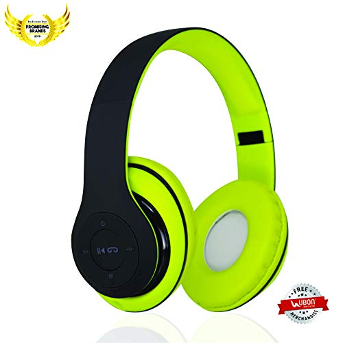 Buy Ubon Bt 5800 Wireless Bluetooth Headset With Mic Green Online At Low Prices In India Amazon In
