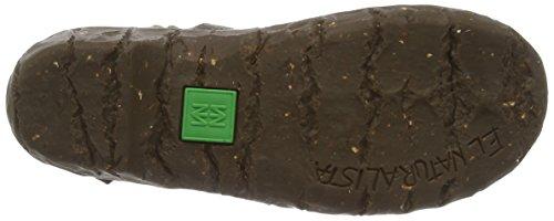 El Naturalista Yggdrasil Ne23 - botines bajos con forro cálido de otra piel mujer marrón - Brown (Kaki)