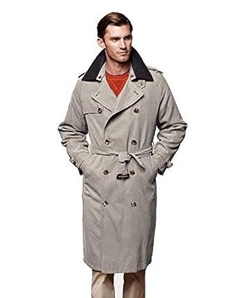 ccd8b84de0f5 London Fog Men's Iconic Trench Coat at Amazon Men's Clothing store: