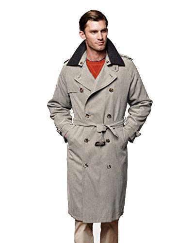 Men's Vintage Style Coats and Jackets London Fog Mens Iconic Trench Coat $149.95 AT vintagedancer.com