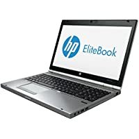 HP EliteBook 8570P 15.6 Inch Business High Performance Laptop Computer(Intel Core i5 3320M 2.6G,8G RAM DDR3,240G SSD,DVD-ROM ,Windows 10 Professional)(Certified Refurbished)