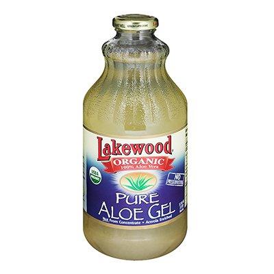 Lakewood Organic Pure Aloe Vera Gel 32 Ounce