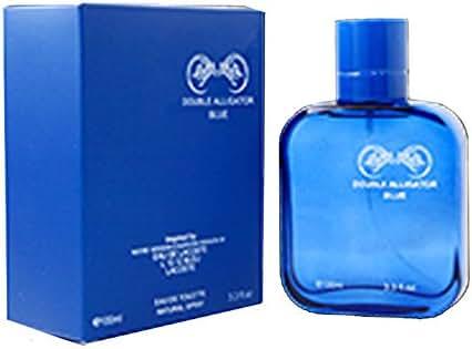 Double Alligator 3.3oz EDT Mens Cologne Spray (Blue)