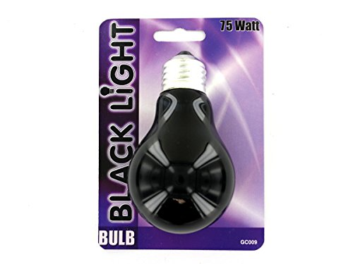 75 Watt Black Light Bulb - Pack of 96 by bulk buys