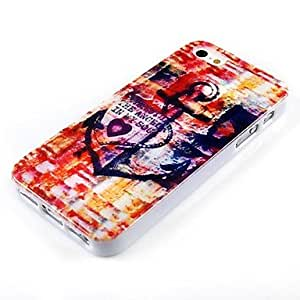 TL Colorful Anchor Pattern Silicone Soft Case for iPhone 4/4S