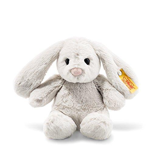 Plush Soft Steiff Animals (Steiff Stuffed Bunny Rabbit - Soft and Cuddly Plush Animal Toy - 8