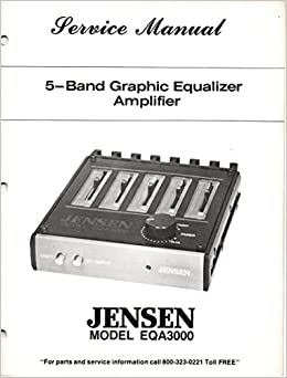 Service Manual for JENSEN EQA3000 5 Band Graphic equalizer ... on equalizer circuit diagram, car audio diagram, equalizer and amp diagram, equalizer amp wiring, equalizer schematic,