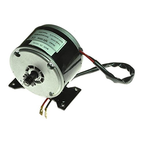 Monster Motion 24 Volt 250 Watt MY1016 Electric Motor with 11 Tooth #25 Chain Sprocket