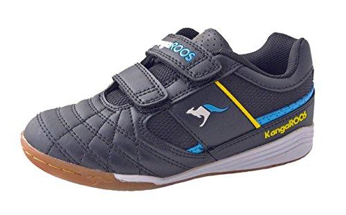 Velcro Shoes 150457 black KangaROOS Schwarz blue Kids 1 AEqxU5B