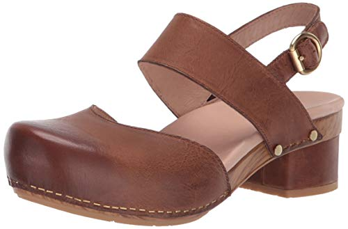 (Dansko Women's Malin Sandal, tan Waxy Burnished, 37 M EU (6.5-7 US))