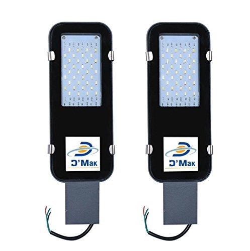 DMT 30-Watt Waterproof LED Street Light (2 Years Warranty, IP65) Outdoor Light/Industrial Light – Pack of 2