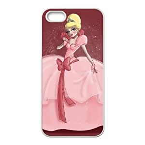 iPhone 5 5s Cell Phone Case White Disney The Princess and the Frog Character Charlotte La Bouff