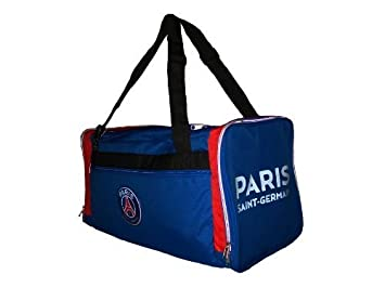 PARIS SAINT GERMAIN Collection Officielle Sac de Sport Motif Ligue 1 de Football Dimensions : 58 x 29,5 x 31,8 cm