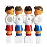 Tenflyer Pack of 4 Rod Foosball Soccer Table Football Men Player Replacement Parts