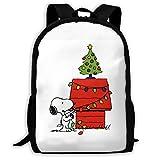 Dilbert Brown Classical Basic Travel Backpack for School Water Resistant Bookbag