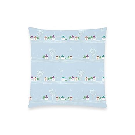Desconocido Algodón Funda de Almohada algodón Dormitorio/Sofá/sofá/Coche/ Cafe impresión