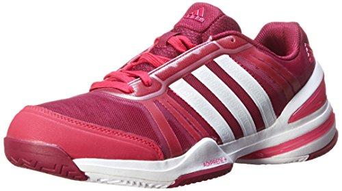 adidas Performance Women's CC Rally Comp W Tennis Shoe, Bold Pink/White/Tribe Berry, 7 M US