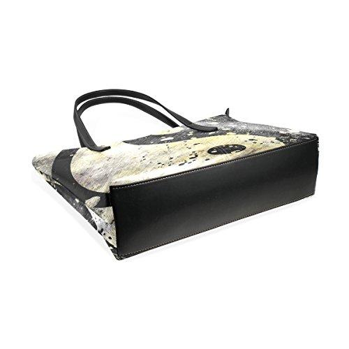 Coosun Tracolla Bag Bianco Del Borse Tao Della E Sacchetto In Medio Borsa Nero Grunge A Donne Su Simbolo Tote Muticolour Per Le Pu Pelle p8q7rp