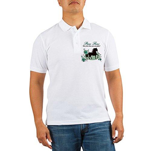 CafePress - Paso Fino - Why Ride When You Can Glide - Golf Shirt, Pique Knit Golf Polo