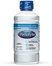 Pedialyte Oral Electrolyte Maintenance Solution, Unflavored, 1 qt 1.8 fl oz (1 liter)