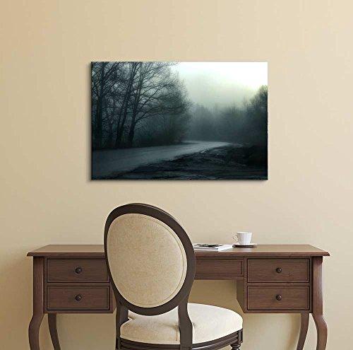 Beautiful Scenery Landscape Fog Misty Morning Wall Decor