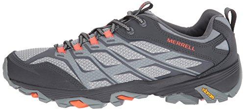 Pictures of Merrell Men's Moab Fst Hiking Shoe J37611 Grey/Orange 5