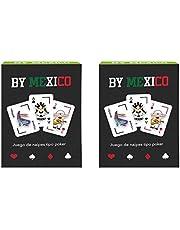 By Mexico, Dúo de baraja de póker con diseños de By Mexico