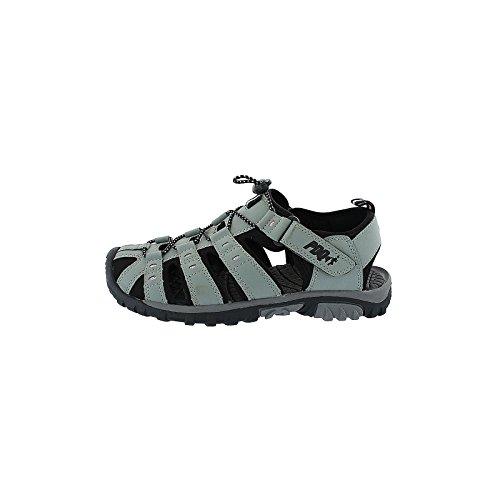 Salt Pepper-Sandali da passeggio, PDQ, colore: grigio/rosa