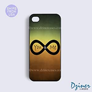 iPhone 4 4s Case - Infinity You And Me iPhone Cover