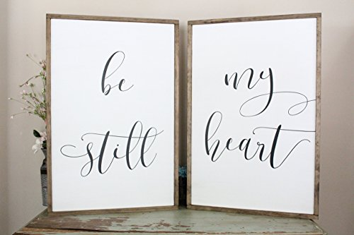 Be Still My Heart Wall Decor