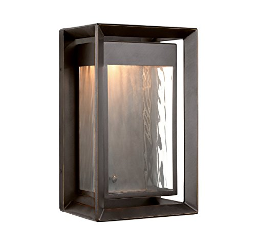 Feiss OL13701ANBZ-LED One Light Outdoor LED Wall Lantern