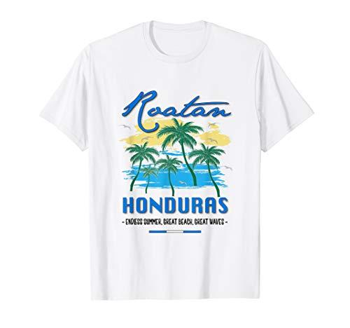 Roatan Honduras Travel Souvenirs Fish Gifts Shirt