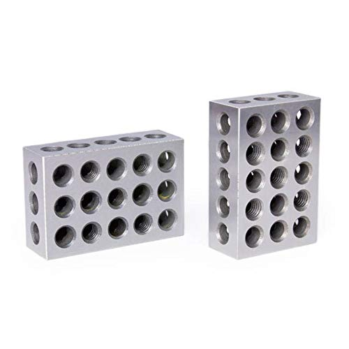 Pair of 2 4 6 Blocks for milling (They are 2x4x6 inches, Within 0.0001