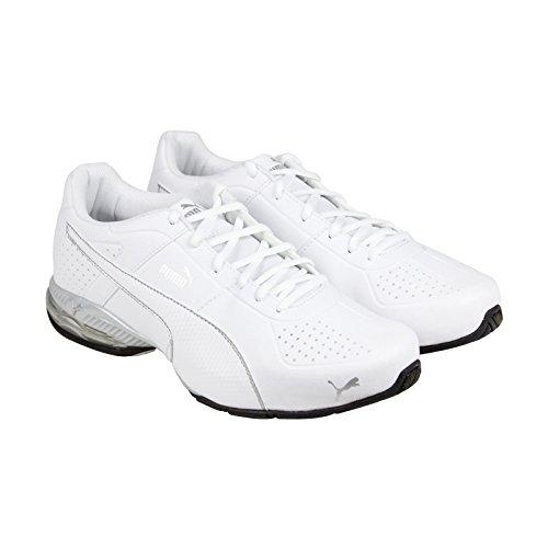 PUMA Men's Cell Surin 2 Fm Cross-Trainer Shoe, Puma White, 11 M US
