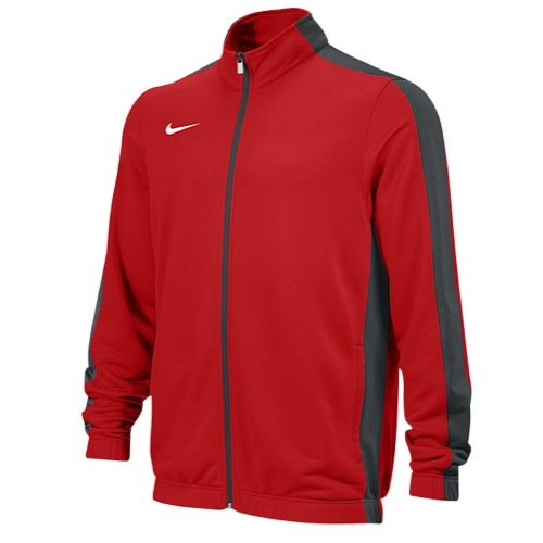 Nike Mens Stock League Warm-Up Jacket Red/Grey