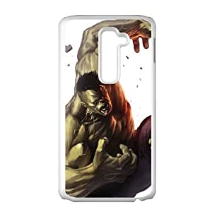 The Hulk Comic LG G2 Cell Phone Case White Gift pjz003_3420137