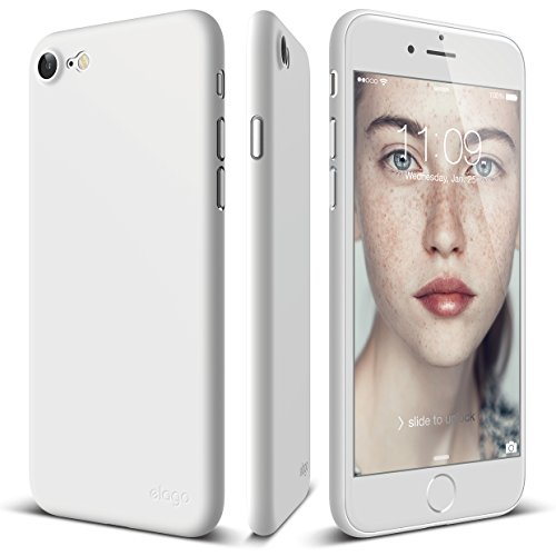 elago iPhone 8 / iPhone 7 case [Origin][White] - [Scratch Protection Only 0.38mm][for Minimalists][True Fit] - for iPhone 8 / iPhone 7