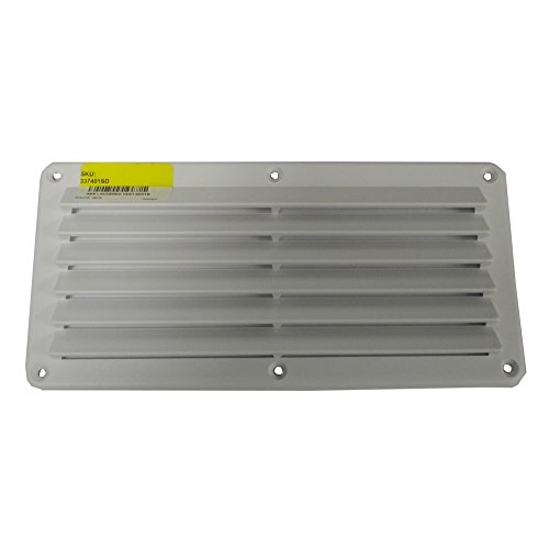 - Sea-Dog Line Square Louvered Vent, abs louvered vent wht 4-7/8x10-1/8