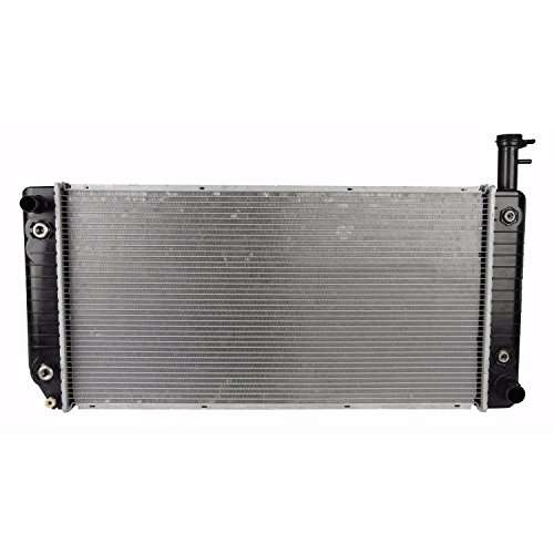 Klimoto Brand New Radiator fits Chevrolet Express Van GMC Savana 2004-2013 4.8L 6.4L V8 040876480643 15107009 15262433 1589798 DPI2791 RAD2791 CU2791 Q2791 SBR2791 (Express Van Engine)