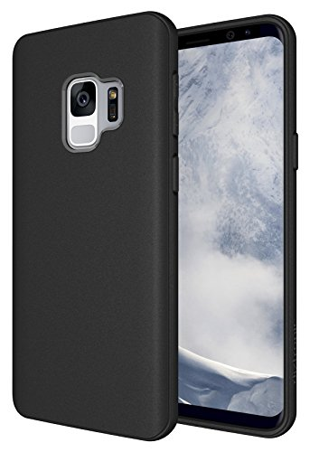 Galaxy S9 Case, Diztronic Full Matte TPU Series - Slim-Fit Flexible Phone Case for Samsung Galaxy S9 - (Matte Black)