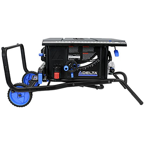 "Delta Power Tools 36-6020 10"" Portable Table Saw with Stand"