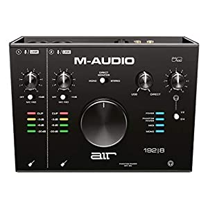 M-Audio AIR 192|8-2-In 4-Out USB Audio/MIDI Interface with Recording Software from Pro-Tools & Ableton Live, Plus Studio-Grade FX & Instruments