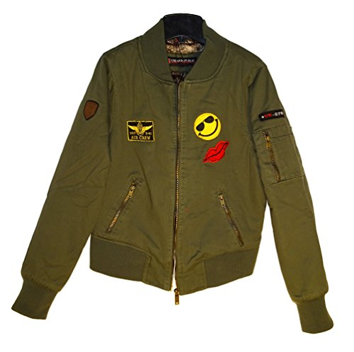 Urban Republic Garment Washed Aviator Patches