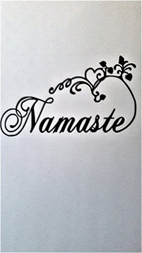 Namaste Meditation Zen Yoga Spiritual Vinyl Decal Sticker|BL